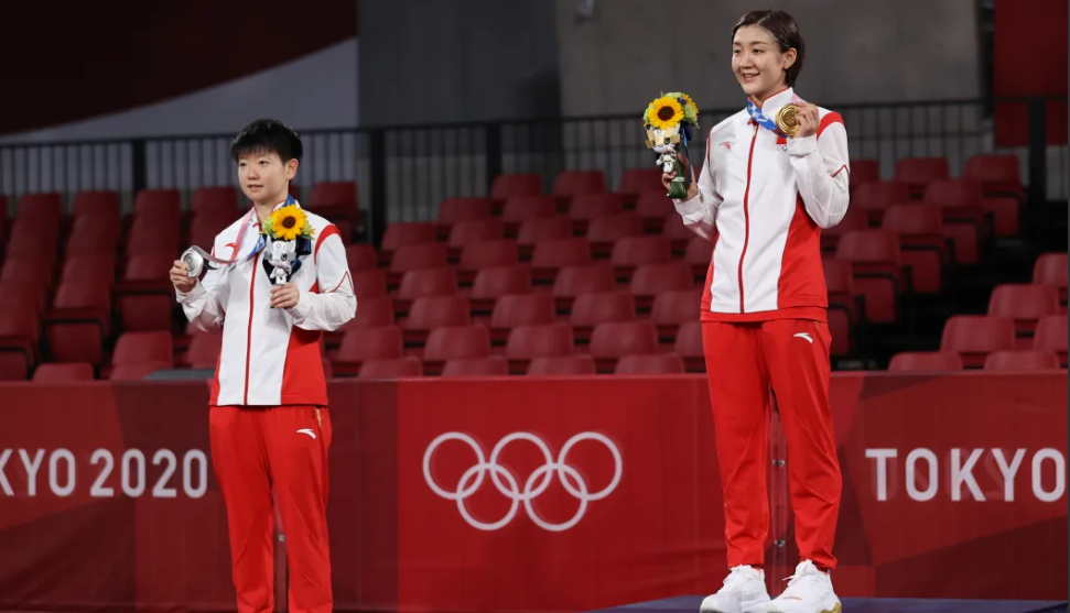 CHEN Meng wins all-China final in women's singles table tennis at Tokyo Olympic Games1