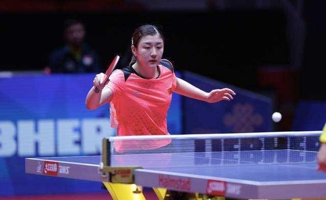 CHEN Meng wins all-China final in women's singles table tennis at Tokyo Olympic Games2
